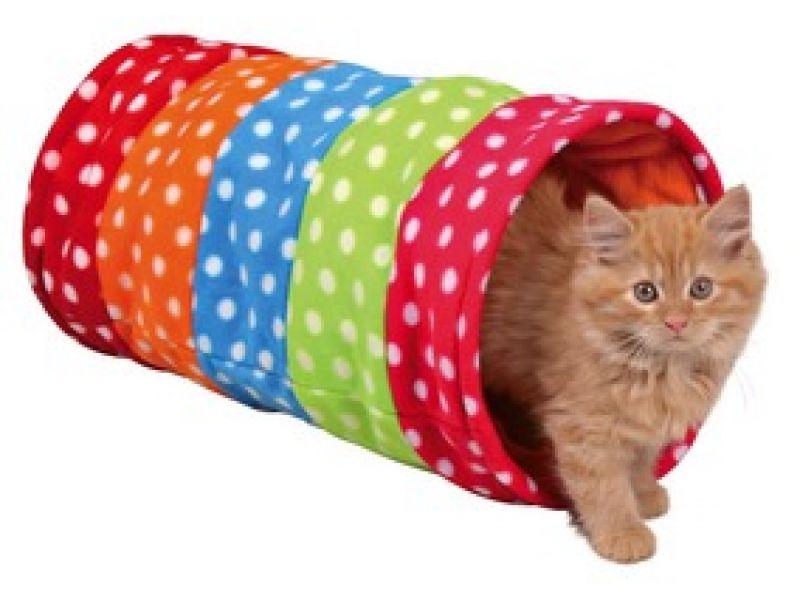 Trixie Тоннель для кошек и щенков, флис (4291), 25*50 см  - Фото
