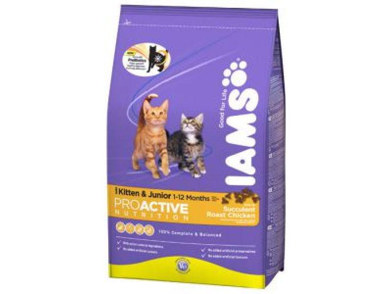 Сухой корм Iams с курицей для КОТЯТ (ProActive Health Kitten) - Фото
