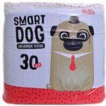 ТОВАР ДНЯ!!! Smart Dog Пеленки впитывающие для животных, 60*90 см, 5 шт.