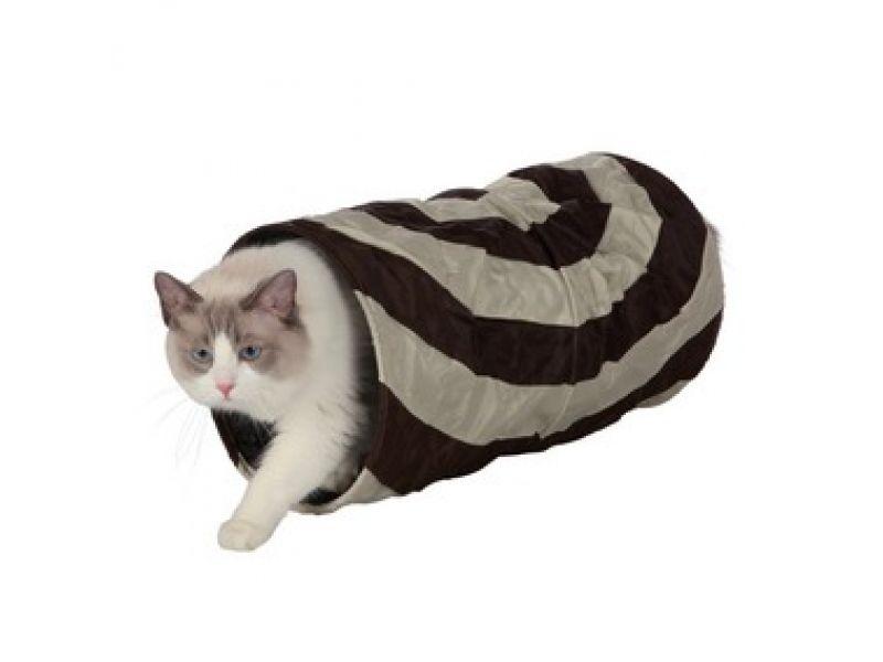 Trixie Тоннель для кошек и щенков, нейлон (4301), 25*50 см  - Фото