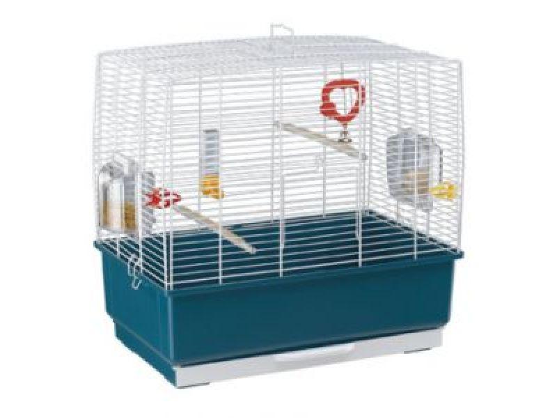 Клетка для птиц Ferplast RECORD 3, 49*30*48,5 см   - Фото