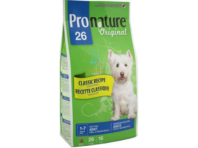 NEW Сухой корм Pronature Original 26 с КУРИЦЕЙ для собак МАЛЫХ и СРЕДНИХ пород - Фото