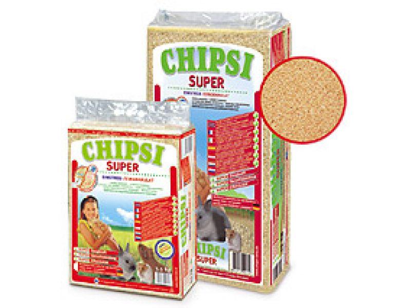 Опилки Cat's Best Chipsi с ароматом клубники, 1 кг - Фото