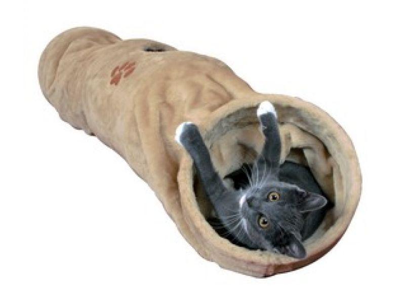 Trixie Тоннель для кошек и щенков, плюш (43001), 25*125 см     - Фото