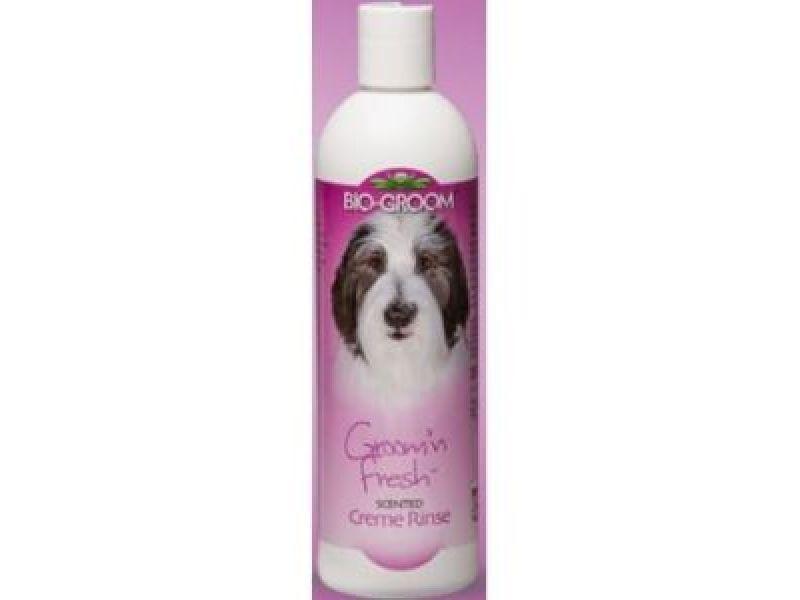 """BioGroom КОНДИЦИОНЕР """"СВЕЖЕСТЬ"""" 1 к 4 для собак и кошек (Groom'n Fresh cream rinse Conditioner), 355 мл  - Фото"""