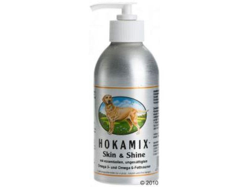 Hokamix Витамины для кожи и шерсти собак и кошек: масло (Skin Shine), 250 гр - Фото