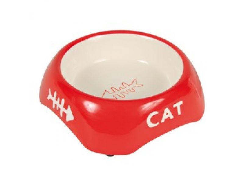 Миска Trixie керамическая для кошек (24498), 13 см, 200 мл    - Фото