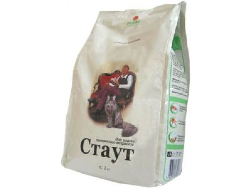 Сухой корм Стаут с мясом ЦЫПЛЕНКА и РИСОМ для ПОЖИЛЫХ кошек - Фото