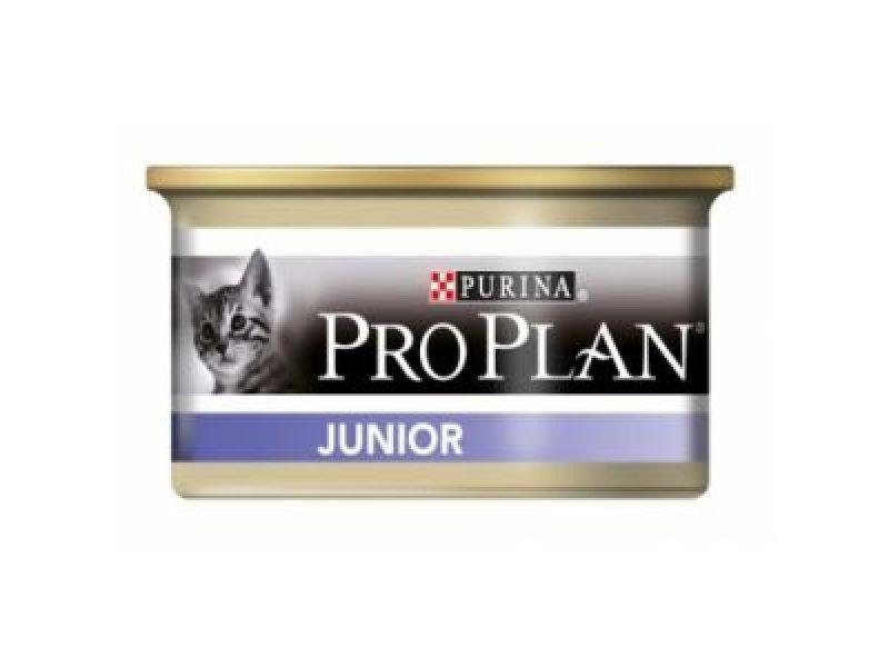 Влажный корм (консервы) Pro Plan с курицей для КОТЯТ (Junior Chicken), 85 гр - Фото