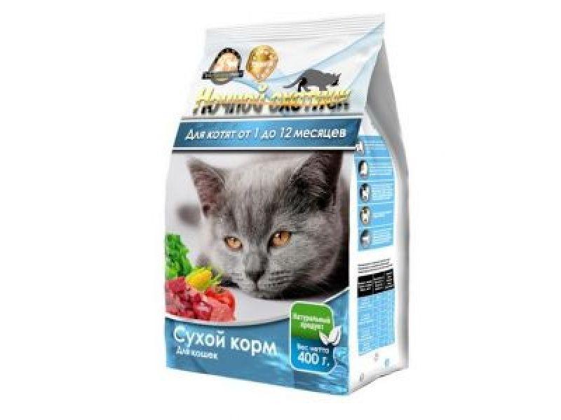 Купить сухой корм для кошек