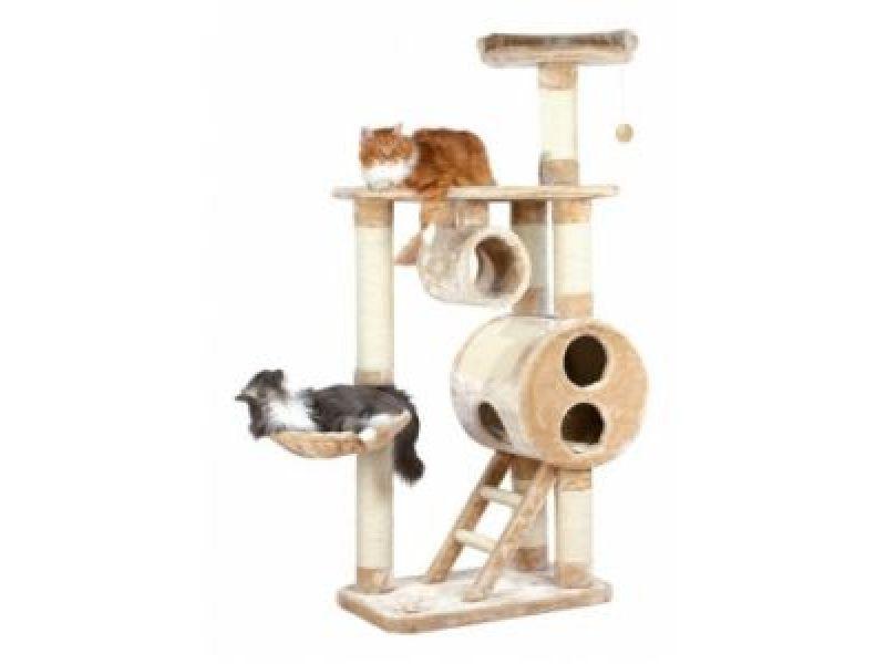 "Trixie Комплекс для кошки меховой ""Mijas"" (43971), 76*46*176 см    - Фото"
