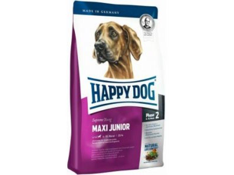 Сухой корм Happy Dog Supreme для ЩЕНКОВ КРУПНЫХ пород: с 6 до 18 мес. (Maxi Junior Gr-23) - Фото