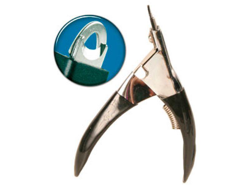 Кусачки-гильотина Trixie для животных, металлические ручки (2370), 11,5 см - Фото