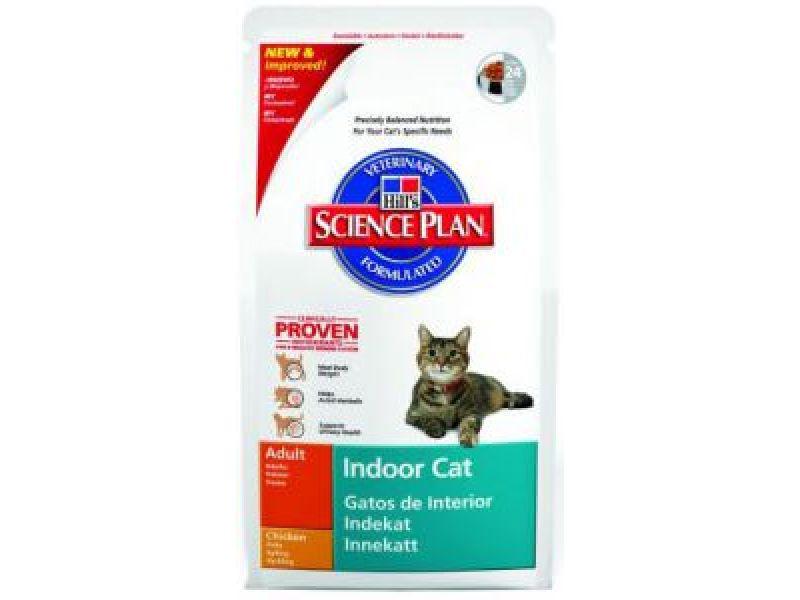 Сухой корм Hill's Science Plan™ для ДОМАШНИХ кошек - КОНТРОЛЬ ВЕСА и ВЫВОД ШЕРСТИ (Indoor) - Фото