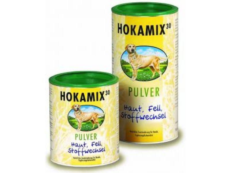 Hokamix Витамины для кожи и шерсти, 30 трав, порошок (Hokamix30 Pulver), 400 гр - Фото