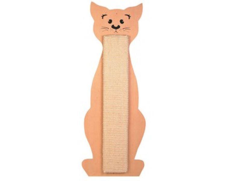 """Trixie Когтеточка для кошек """"Cat Shaped"""" с ароматом кошачьей мяты (43161), 21*58 см   - Фото"""