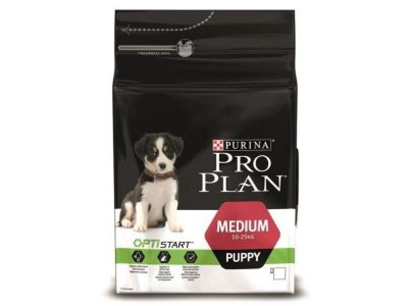 Сухой корм Purina Pro Plan с КУРИЦЕЙ и РИСОМ для щенков СРЕДНИХ пород (Puppy Medium Chicken) - Фото