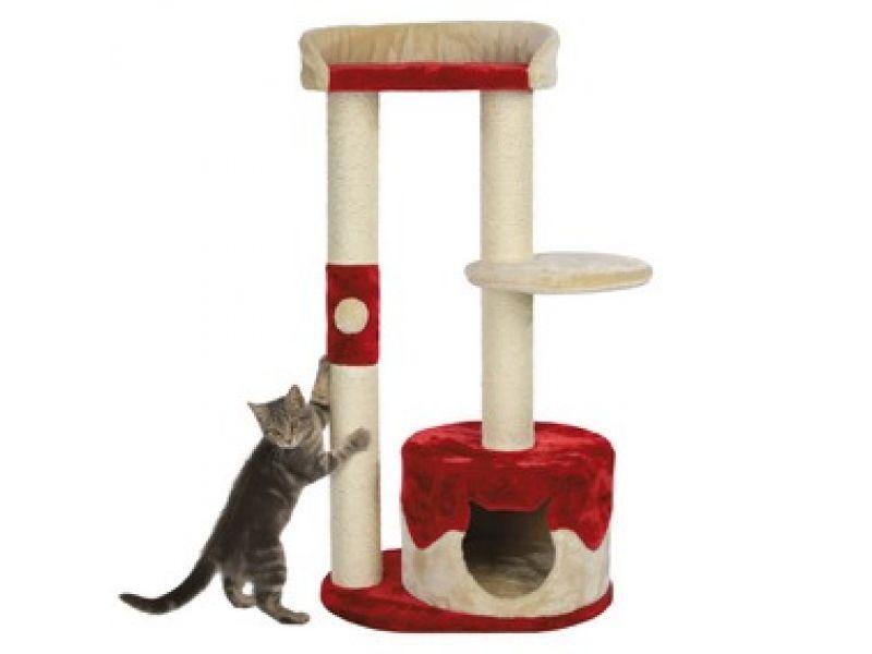 """Trixie Домик для кошки меховой """"Pilar"""" (44821), 50*37*100 см - Фото"""
