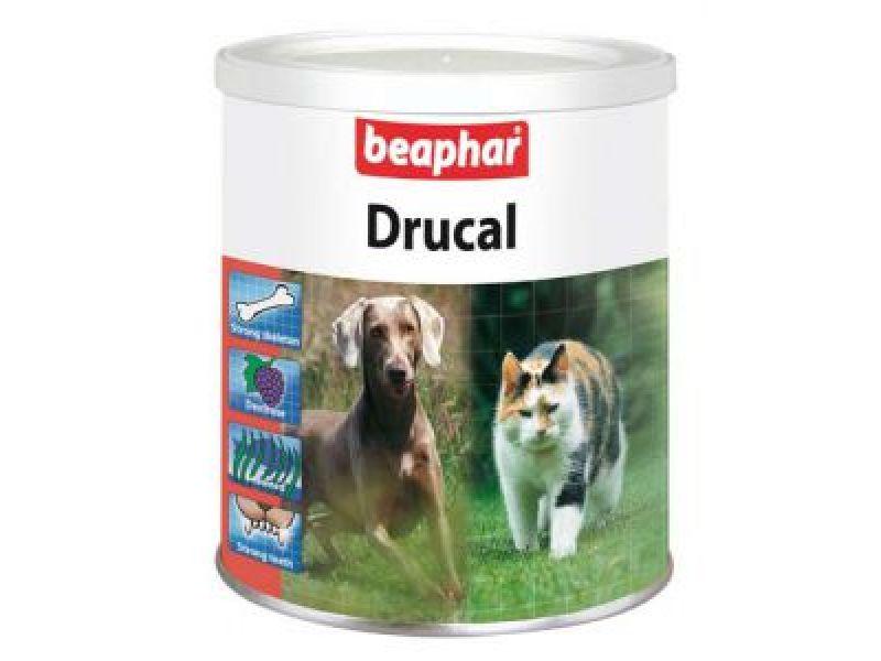 Минеральная смесь Beaphar для УКРЕПЛЕНИЯ СКЕЛЕТА и МЫШЦ собак и кошек (Drucal), 500 гр - Фото