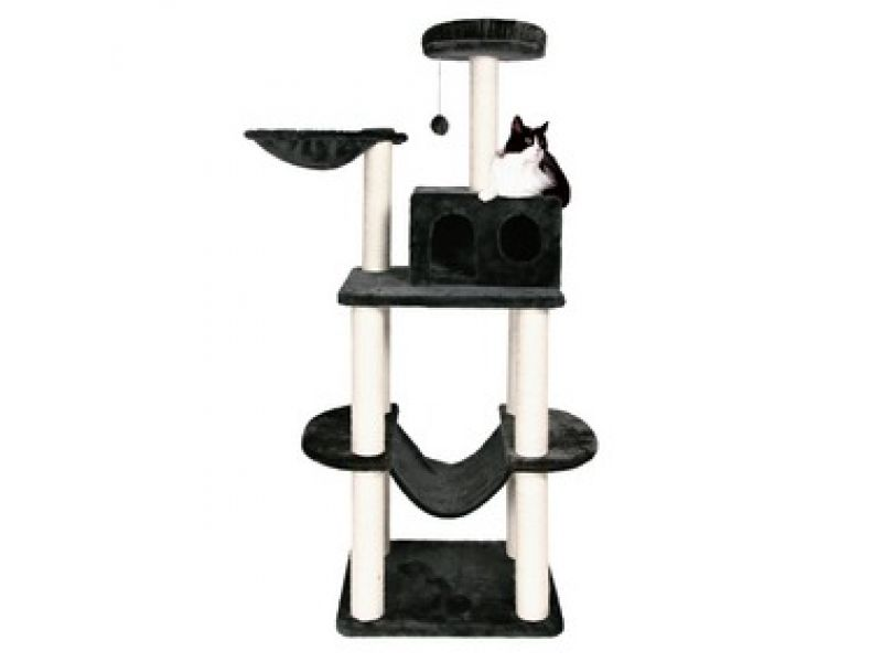 """Trixie Комплекс для кошки меховой """"Tarragona"""" (43537), 62*52*162 см   - Фото"""
