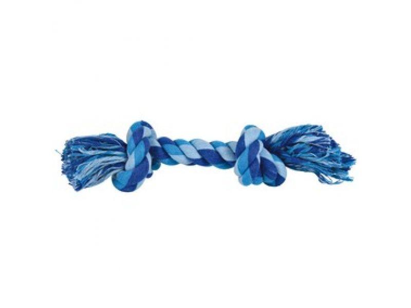 Trixie Веревка с узлом цветная, для собак (32653), 320 г/40 см - Фото