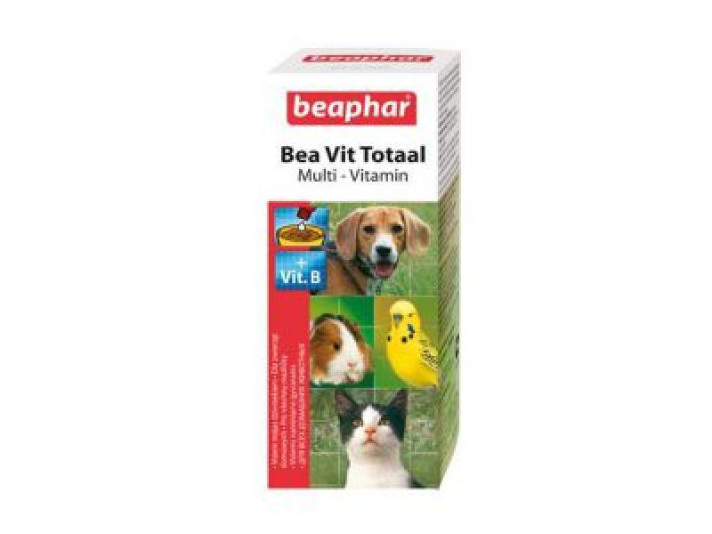 Витамины Beaphar во время ЛИНЬКИ для собак, кошек, птиц и грызунов (Vit Total), 50 мл - Фото