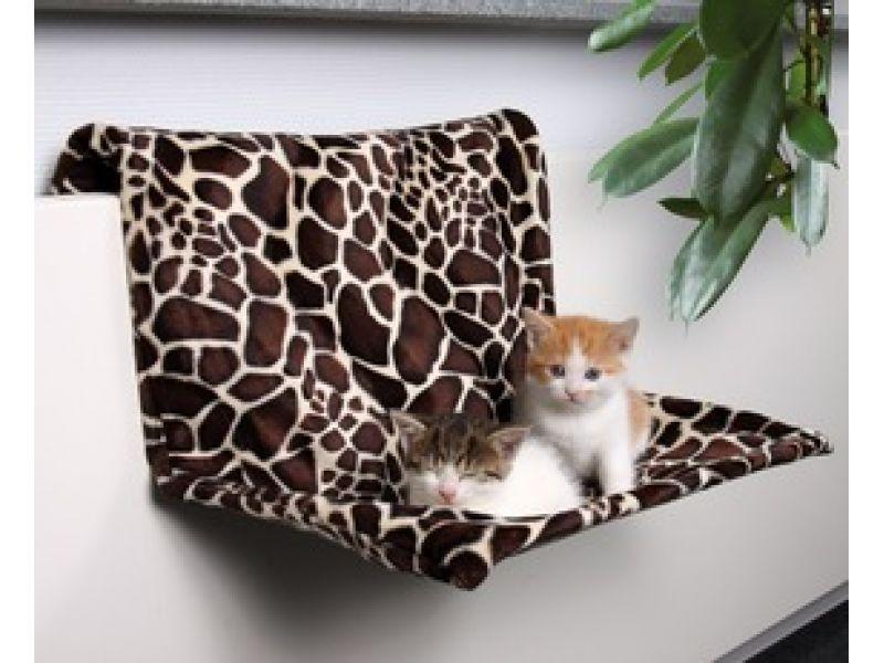 Trixie Гамак на радиатор для кошки (43208), нейлон, 46*30*24 см - Фото