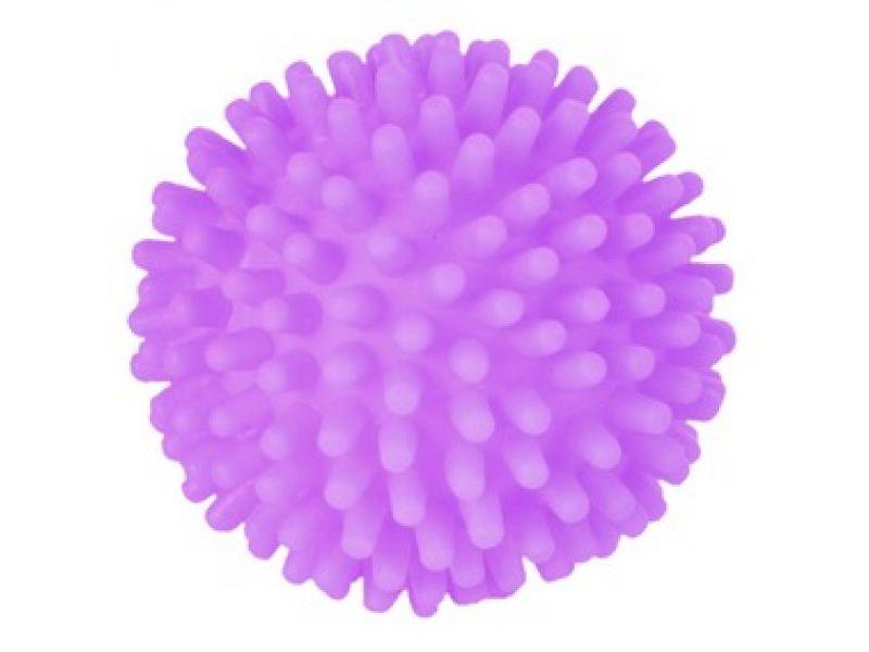 Trixie Мячик игольчатый СО ЗВУКОМ для животных, винил (3412), 10 см   - Фото