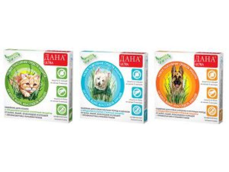 Апи-Сан ОШЕЙНИК от блох, клещей, профилактика от глистов для собак КРУПНЫХ пород, 85 см   - Фото