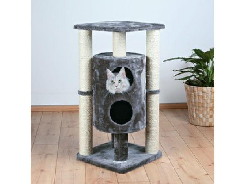 """Trixie Домик для кошки меховой """"Vigo"""" (43802), 45*45*94см  - Фото"""