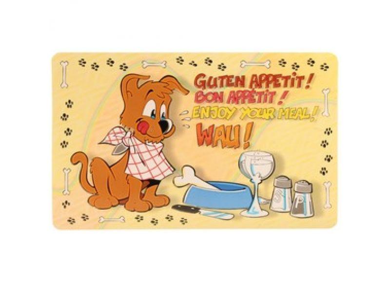 "Коврик под миску Trixie для собак ""Приятного аппетита"" (24541), 44*28 см - Фото"