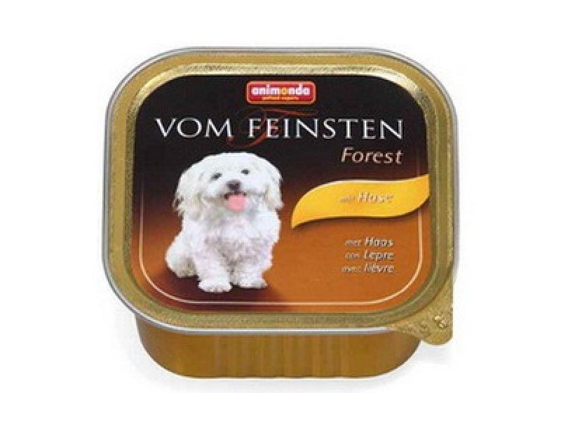 Влажный корм (консервы) Animonda с мясом КРОЛИКА для собак (Vom Feinsten Forest), 150 г  - Фото