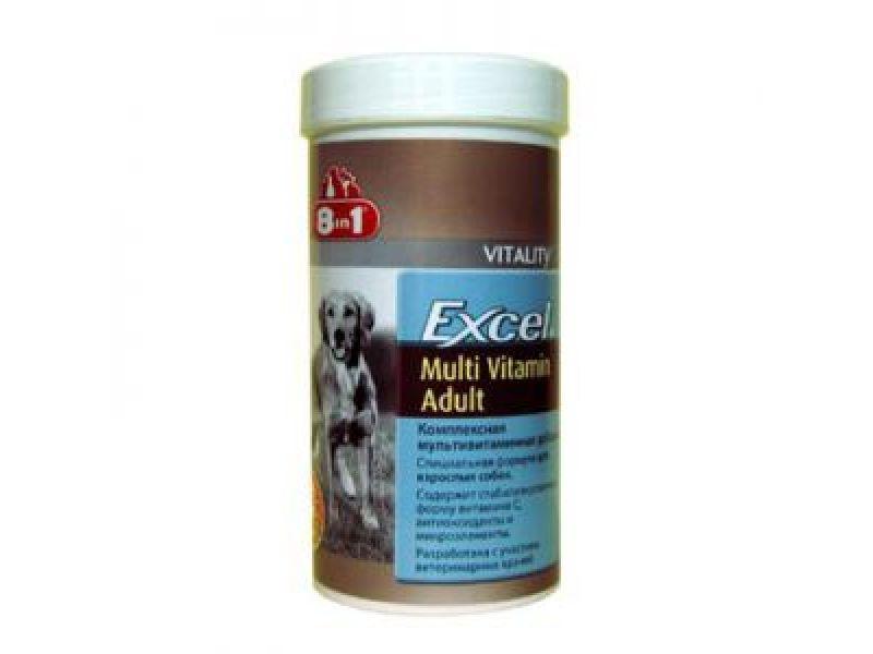 Мультивитамины 8 в 1 для взрослых СОБАК (Excel Adalt Multi Vitamin), 70 шт. - Фото