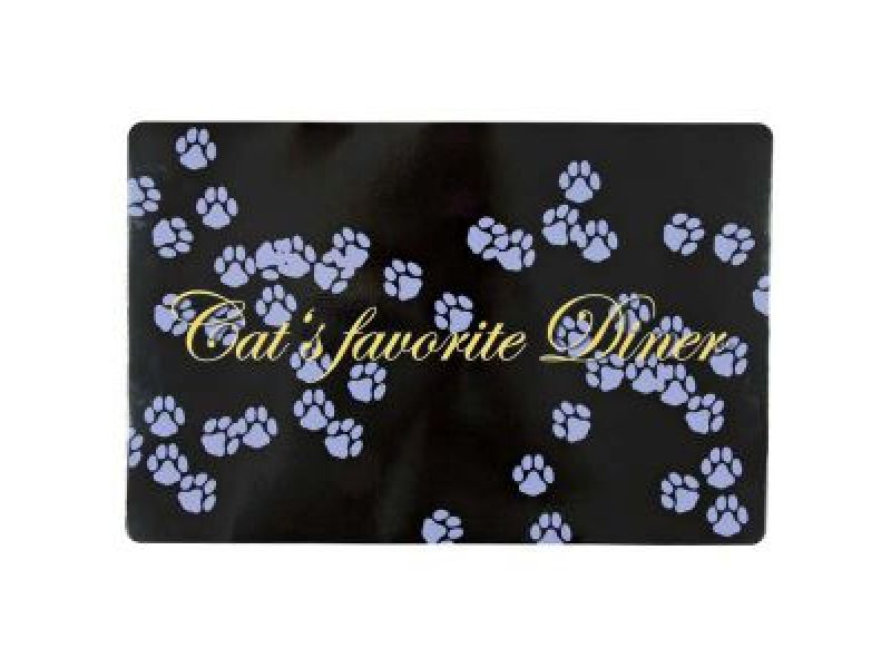 """Trixie Коврик под миску """"Cat's favourite Diner"""" (24547), 44*28 см  - Фото"""