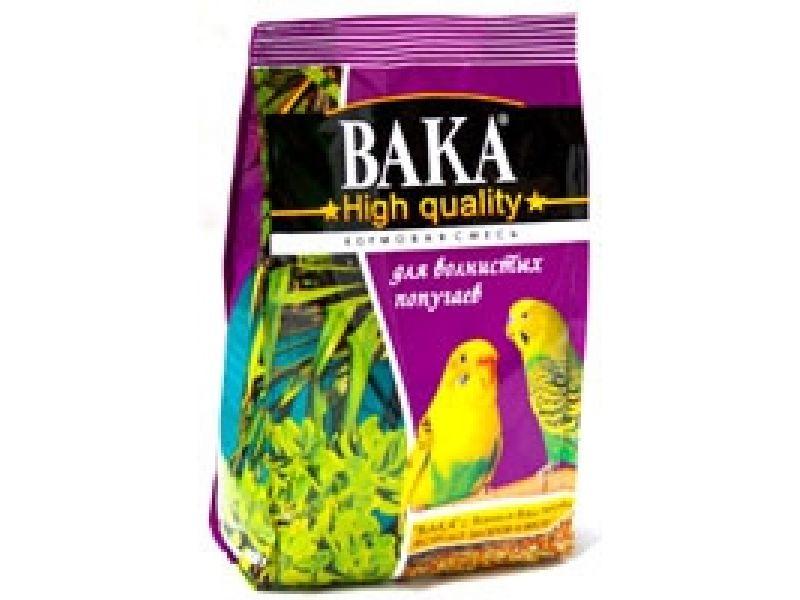 ВАКА High Quality сухой корм для волнистых попугаев, 500 гр - Фото