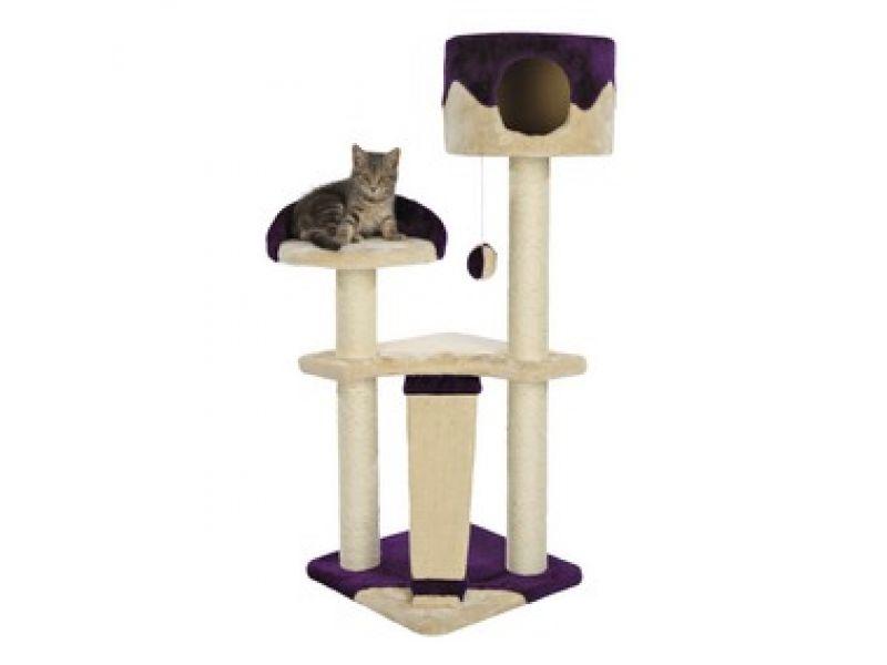 """Trixie Комплекс для кошки меховой """"Carla"""" (44831), 40*40*104 см   - Фото"""