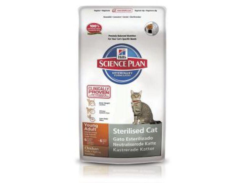 Сухой корм Hill's Science Plan™ для МОЛОДЫХ КАСТРИРОВАННЫХ кошек и котов (Young Adult) - Фото