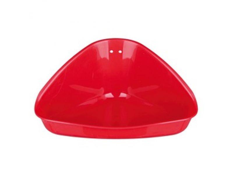 Trixie Туалет угловой для хомяков, пластик (6254), 16*7*12/12 см - Фото