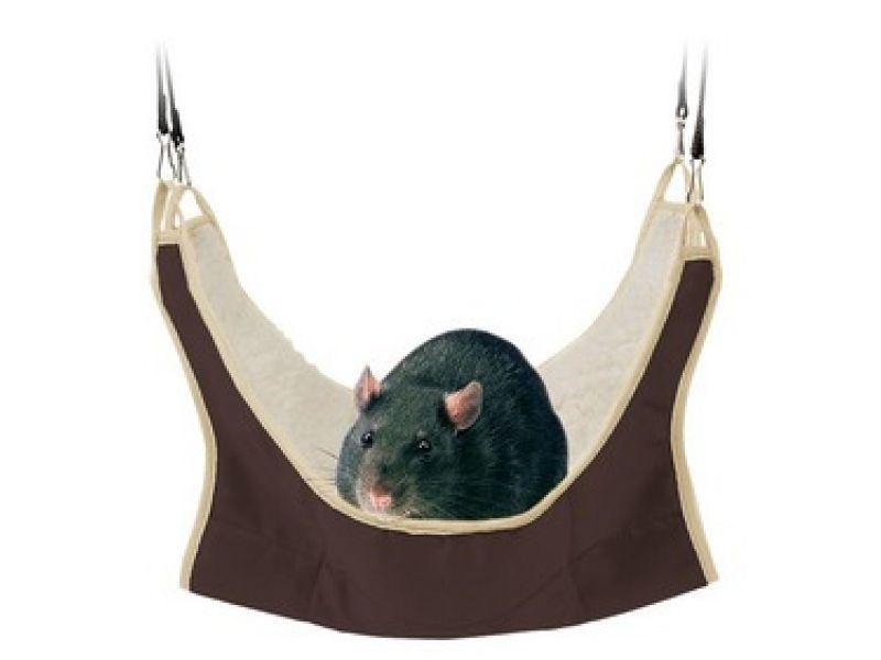Trixie Гамак для декоративных крыс, нейлон (62692), 30*30 см - Фото