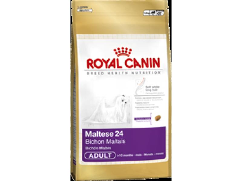 Сухой корм Royal Canin для породы Мальтийская болонка (Maltese 24), 1,5 кг - Фото