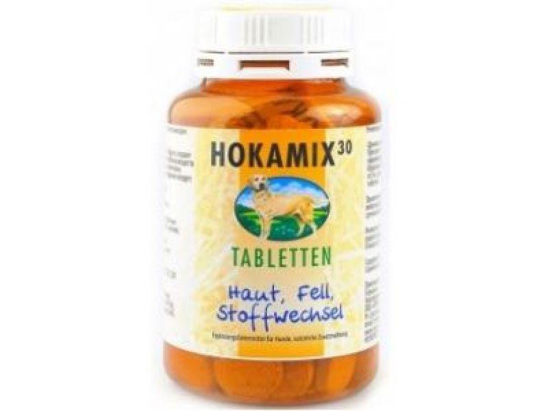 Hokamix Витамины для кожи и шерсти, 30 трав, (Hokamix 30 Tabletten), 80 шт. - Фото