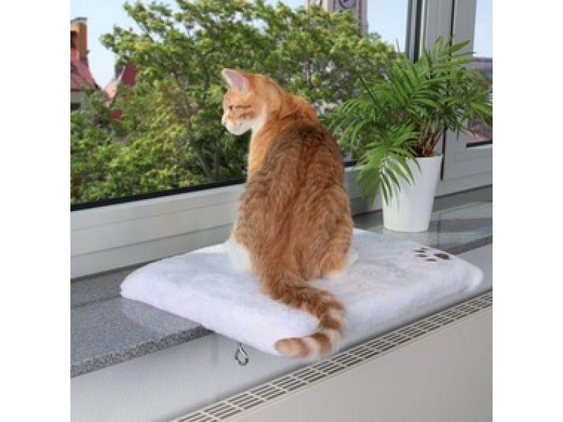 Trixie Лежак на подоконник для кошки (4328), 36*51 см - Фото
