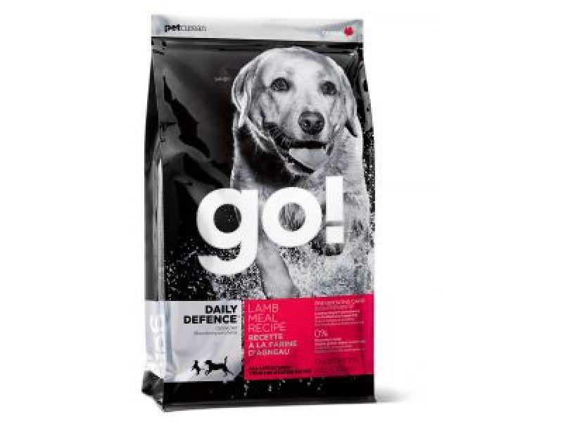 Акция!!! NEW Сухой корм GO Natural holistic со свежим ЯГНЕНКОМ для щенков и собак (Daily Defence Lamb Dog Recipe), 11,3 кг - Фото