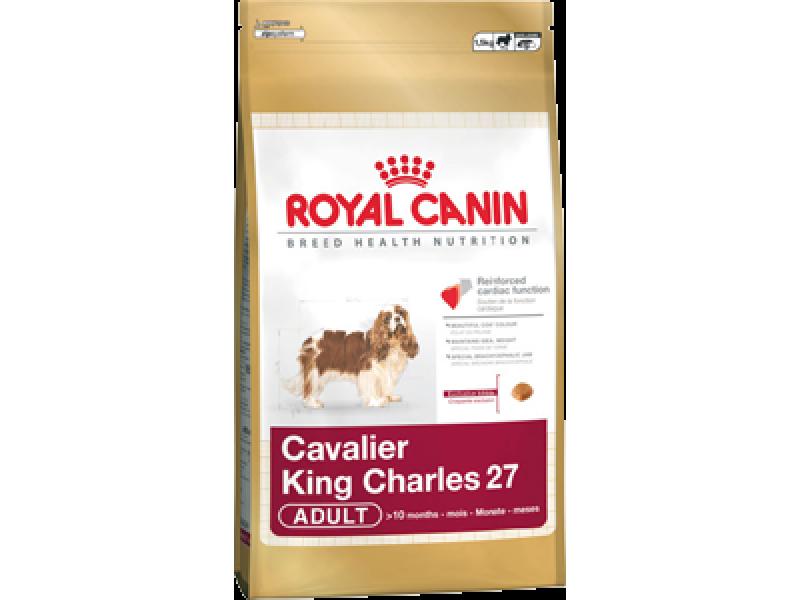 Сухой корм Royal Canin для породы Кинг Чарльз Спаниель (Cavalier King Charles 27), 1,5 кг - Фото