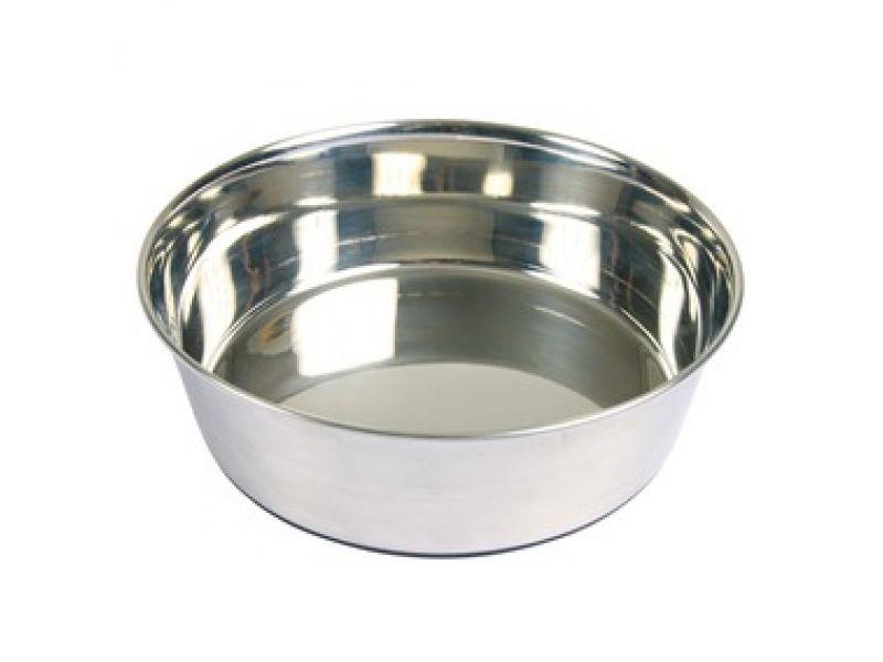 Миска Trixie из нержавеющей стали на резиновой основе для собак (25071/72/73/74) - Фото