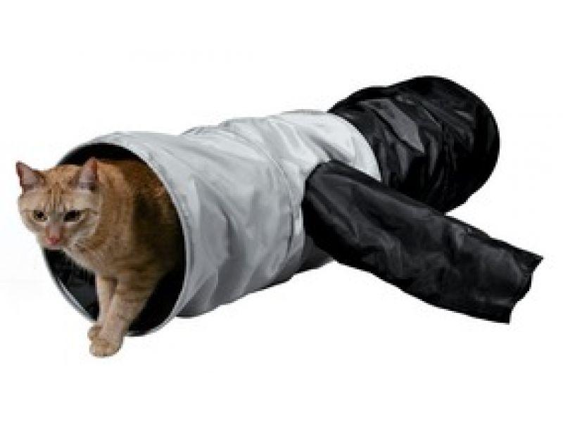 Trixie Тоннель для кошки, нейлон (4302), 30*115 см  - Фото