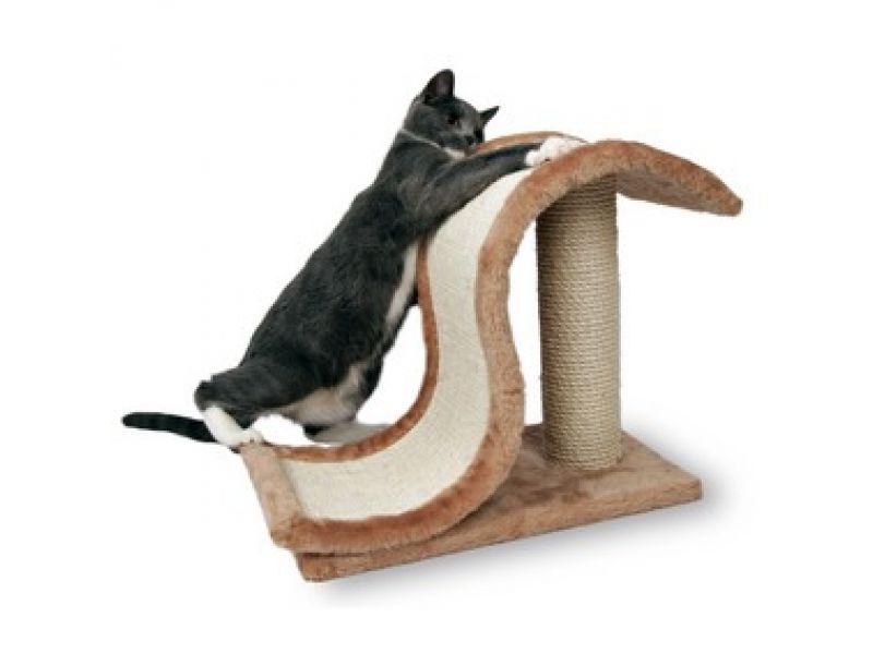 "Trixie Когтеточка для кошек ""Волна"" (4341), 44*25*39 см  - Фото"