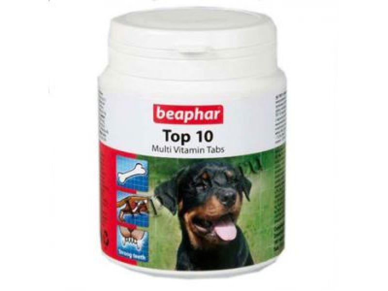 Витамины Beaphar для СОБАК с L-карнитином (Top 10 for Dogs) - Фото