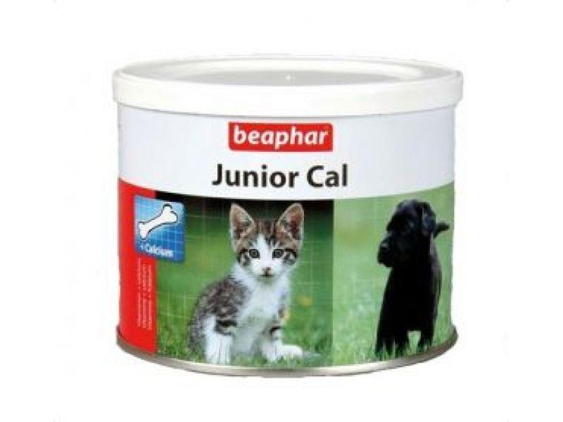 Минеральная смесь Beaphar для ЩЕНКОВ и КОТЯТ (Junior Cal), 200 гр - Фото