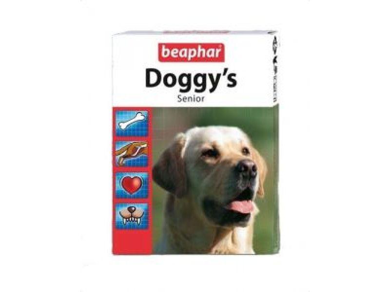 Витамины Beaphar для ПОЖИЛЫХ собак (Senior Doggy's), 75 шт. - Фото